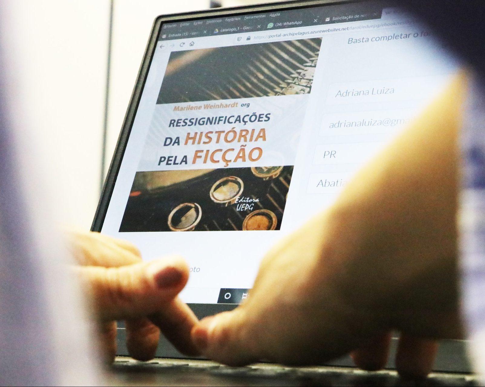 Editora UEPG lança livro sobre história e ficção