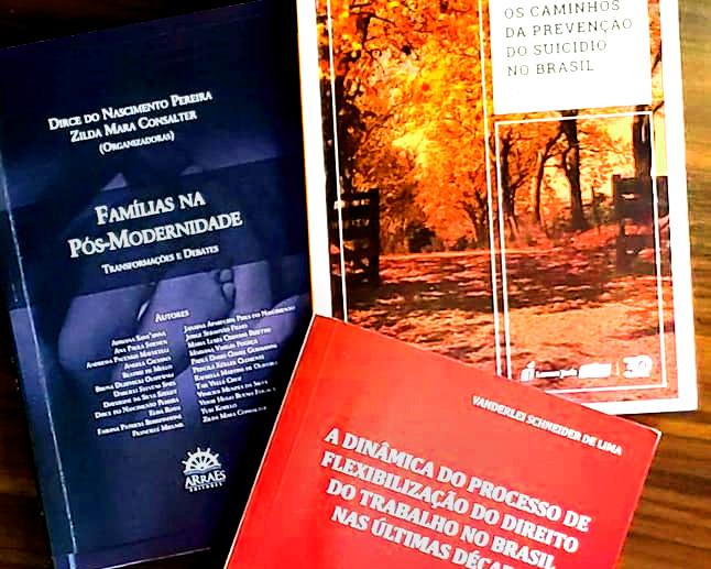 Professores de Direito das Relações Sociais lançam livros hoje