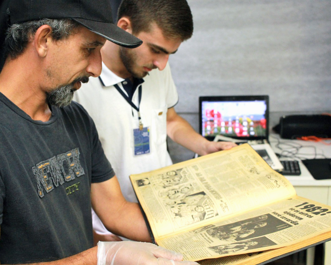 Museu Campos Gerais digitaliza impresso dos anos 80