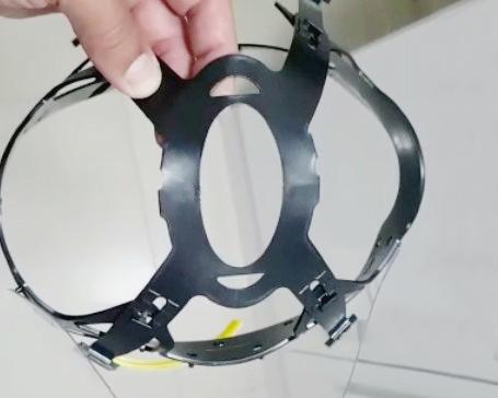 Voluntários da UEPG criam novo modelo de protetor facial