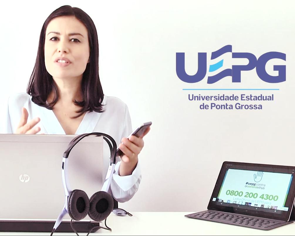 Call Center UEPG sobre Coronavírus atende até 22h