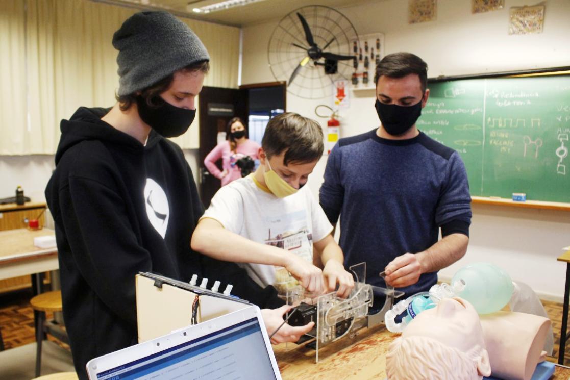 UEPG desenvolve protótipo de ventilador pulmonar
