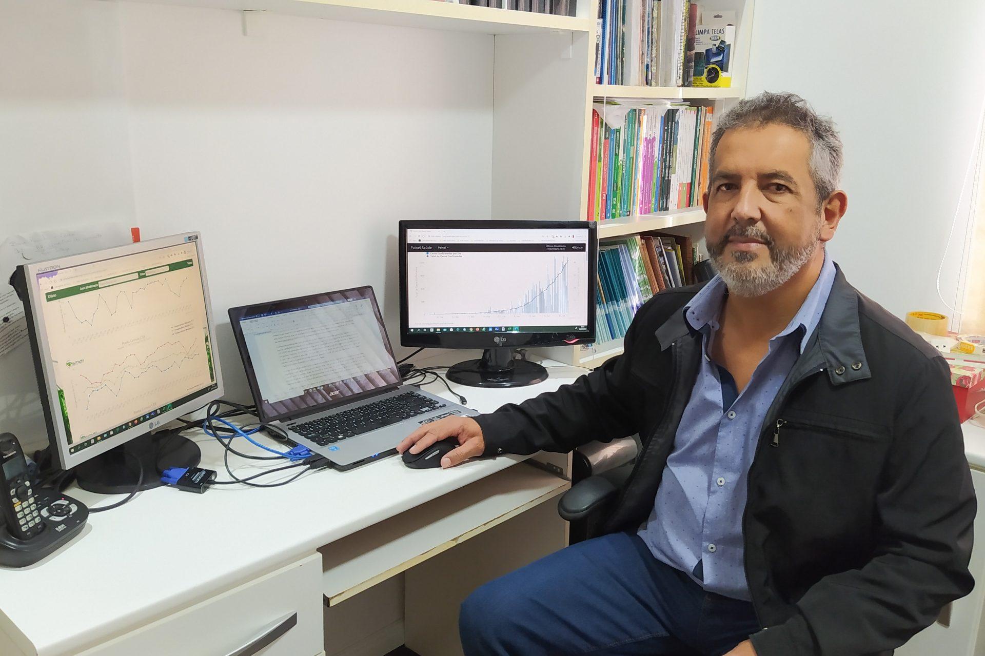 Professor da UEPG pesquisa relação do clima com covid-19