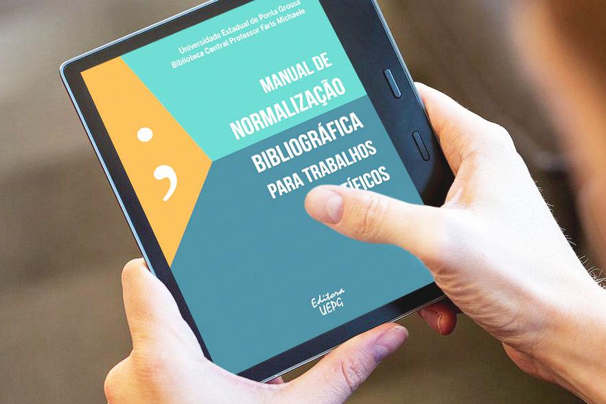 Editora UEPG publica Manual de Normalização Bibliográfica