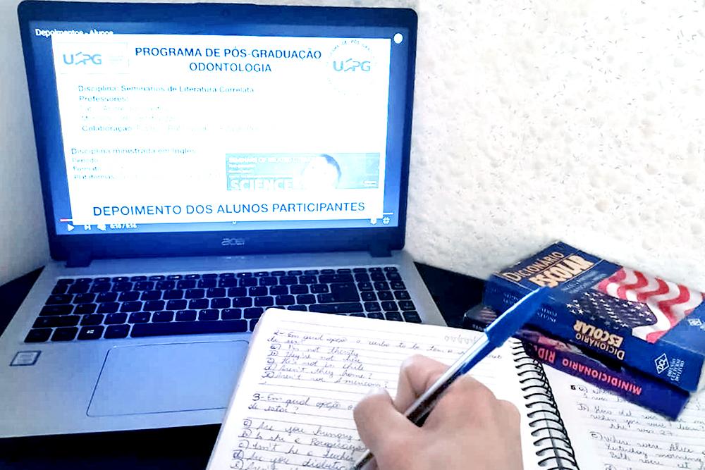 Inglês na pós de Odontologia estimula internacionalização da UEPG