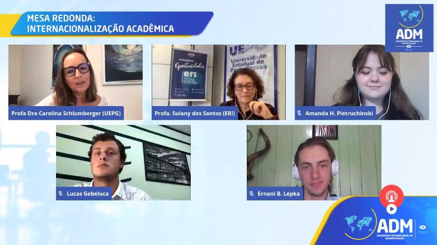Evento de Administração traz debate sobre internacionalização da universidade