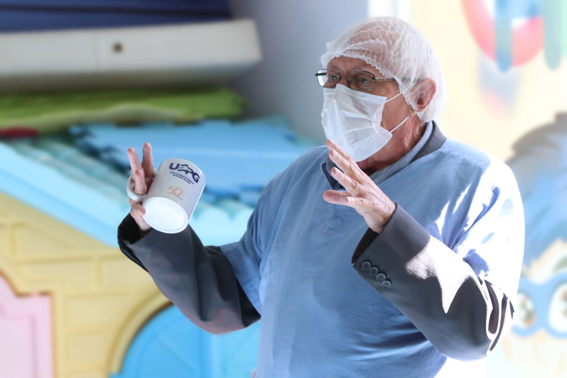 UEPG lamenta falecimento do pediatra Lauro Schoenberger Filho