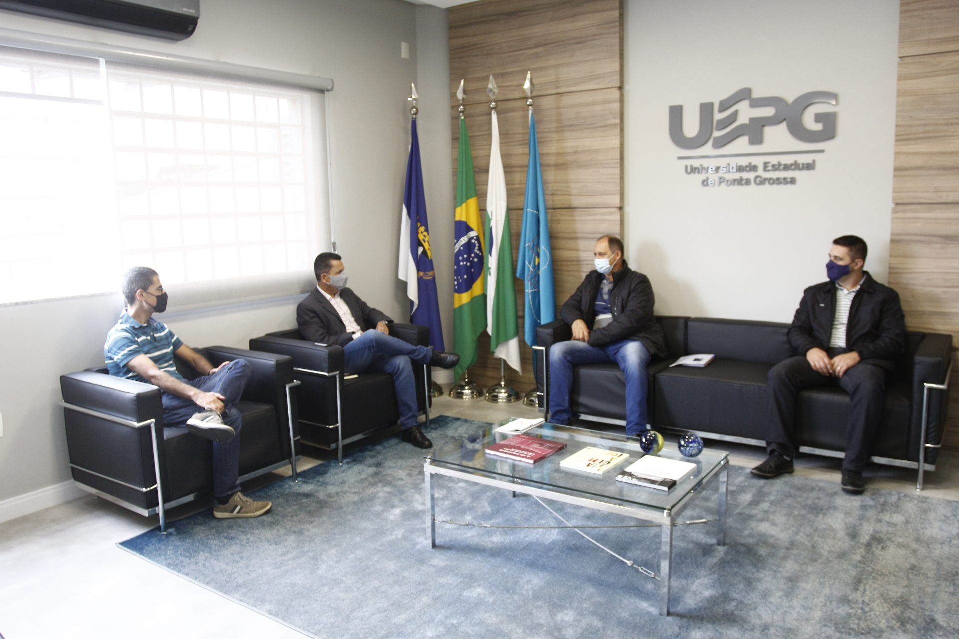 UEPG discute termo de cooperação com prefeitura de Porto Amazonas