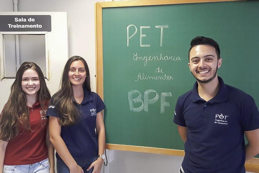 PET-Engenharia de Alimentos promove ações de ensino, pesquisa e extensão